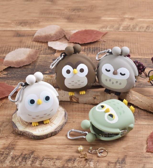 3D POCHI FRIENDS BIRD(「フクロウ」モチーフ)